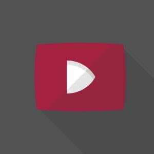 youtube風のアイコン