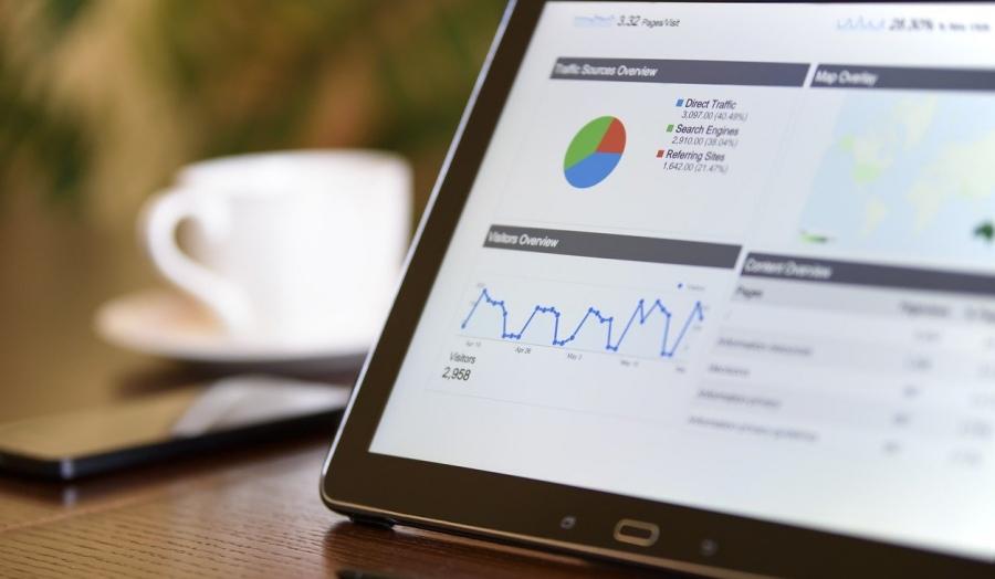 Web広告の解析画面
